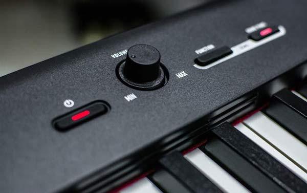 Casio CDP-S100 panel de control