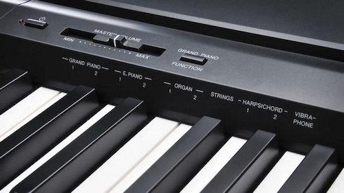 Yamaha p45 panel de control