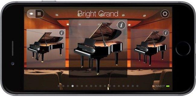 Yamaha Digital Piano Controller App